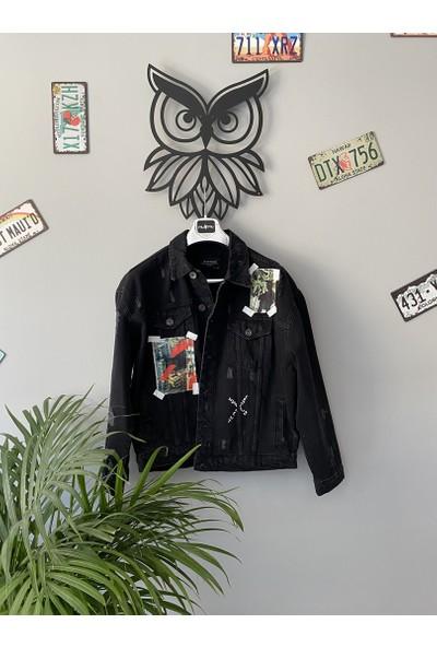 2Y Premium Siyah Kot Ceket