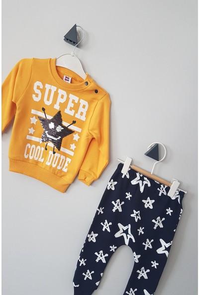 Ram Erkek Bebek Değişebilen Pullu Super Star Alt Üst Takım