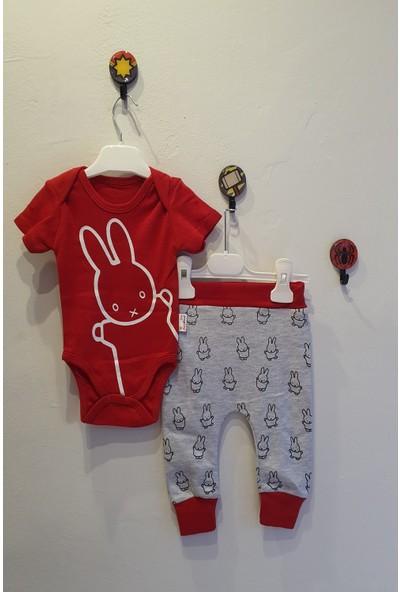 Baby Wood Erkek Bebek Tavşanlı Alt Üst Takım