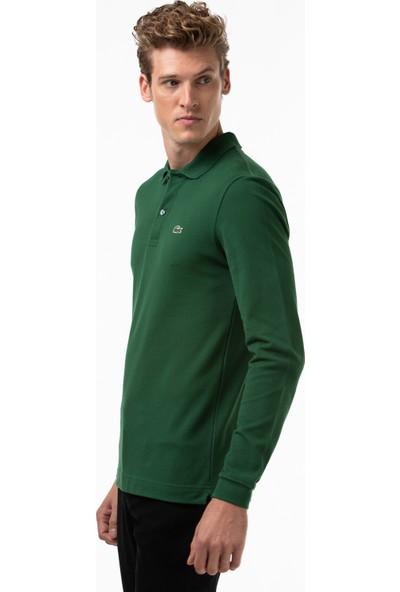 Lacoste Erkek Regular Fit Uzun Kollu Yeşil Polo PH4013 132