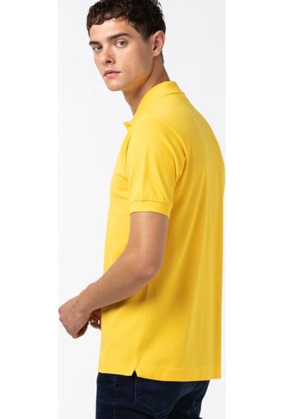 Lacoste Erkek Regular Fit Sarı L1212 Polo L1212 Us3