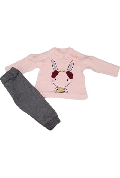 Voi 50708 Vol Kulaklı Tavşan Nakışlı 2'li Kız Takım