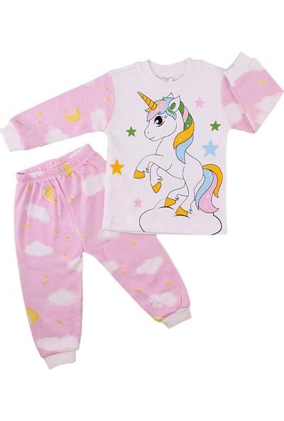 Süpermini 1165 Kız Unicorn Pijama Takımı