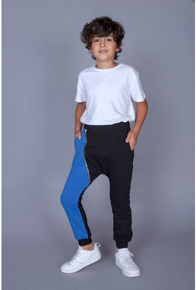 Toontoy Erkek Çocuk Şalvar Tipi Fermuar Detaylı Eşofman Alt