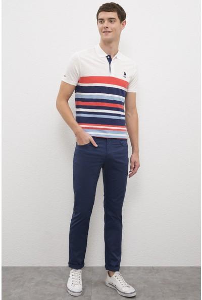 U.S. Polo Assn. Erkek Mavi Chinos 50202959-VR164
