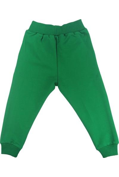 Cuponi Spor Erkek Çocuk Eşofman Altı Yeşil 1 - 2 Yaş