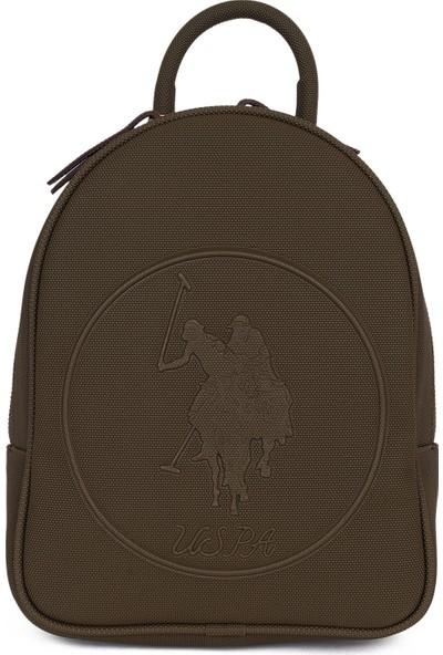 U.S. Polo Assn. Kadın Kabartma Logolu Kadın Sırt Çantası US19883