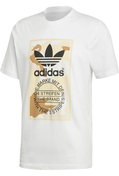 Adidas Camouflage Tongue Label Erkek T-Shirt