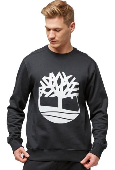 Tımberland Yc Core Tree Logo Crew Neck Erkek Sweat Shirt