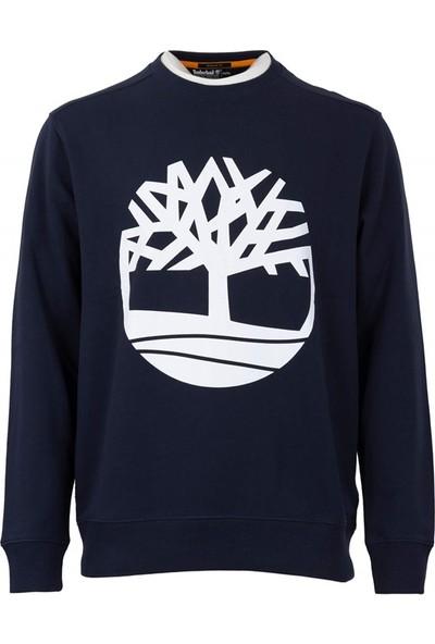 Tımberland Yc Core Tree Logo Crew Neck Erkek Sweatshirt