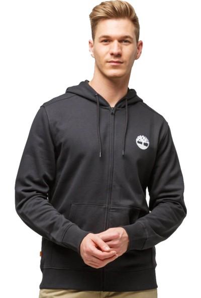 Tımberland Yc Core Tree Logo Full Zip Hoodie Erkek Kapşonlu Sweatshirt