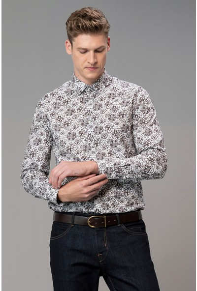 Lufian Erkek Trodos Smart Gömlek Slim Fit