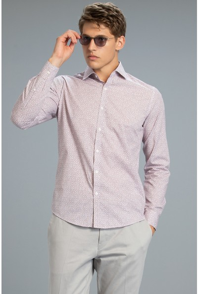 Lufian Erkek Uniq Smart Gömlek Slim Fit