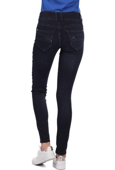 Blue White Skinny Pantolon