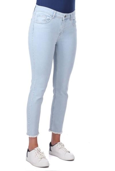 Blue White Kot Pantolon