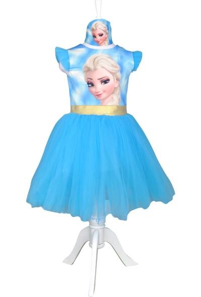 Meneviş Elsa Kız Çocuk Tütü Elbise