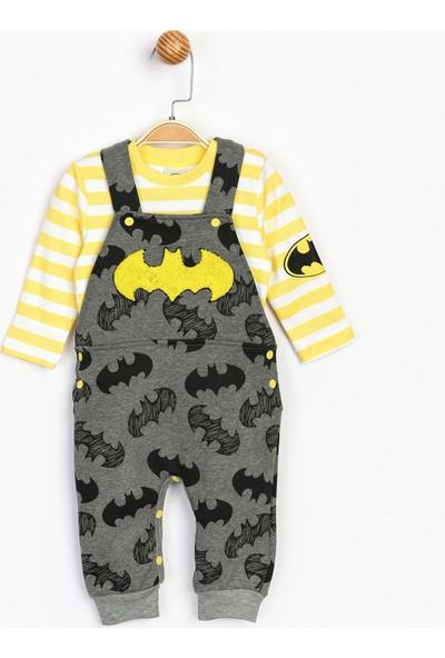 Batman Bebek Salopet Takım 16419