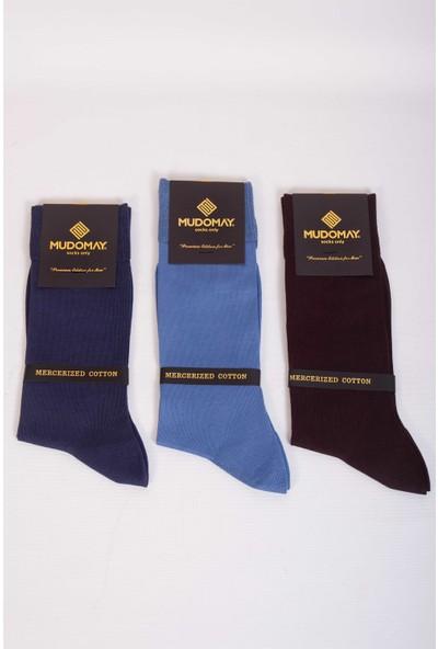 Mudomay 6'lı Merserize Erkek Çorap