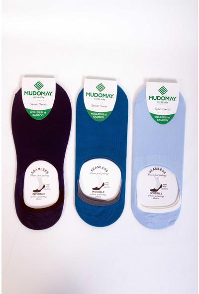 Mudomay 6'lı Bambu Babet Erkek Çorap