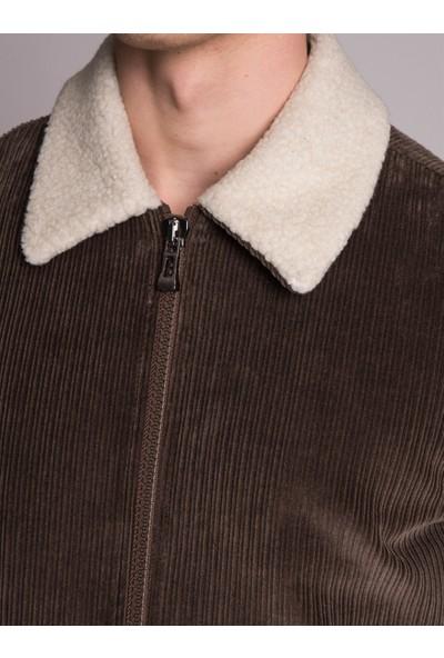 Dufy Haki Düz Erkek Dış Giyim