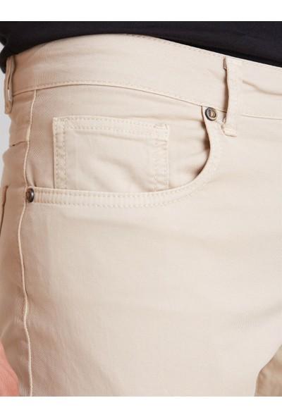 Dufy Taş Pamuklu Likra Erkek Pantolon Modern Fit