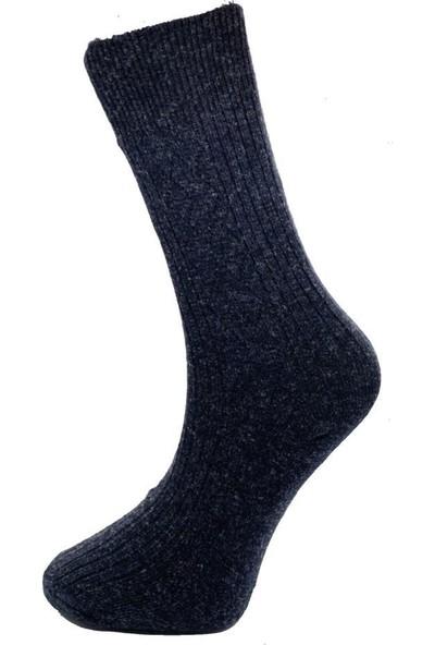 Akdemir 4 Çift Erkek Yün Soket Çorap