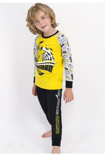 Batman 1202 Erkek Çocuk Kışlık Pijama Takım