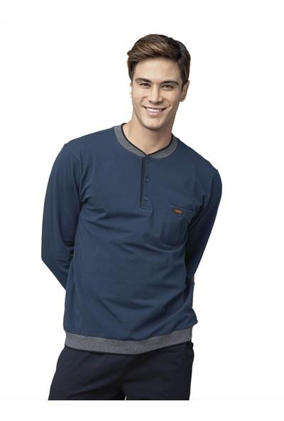 Kly 7007 Erkek Kışlık Pijama Takım