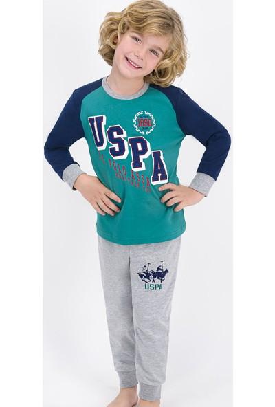 U.S. Polo Assn. 701 Erkek Çocuk Kışlık Pijama Takım