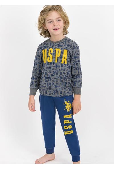 U.S. Polo Assn. 724 Garson Boy Çocuk Kışlık Pijama Takım