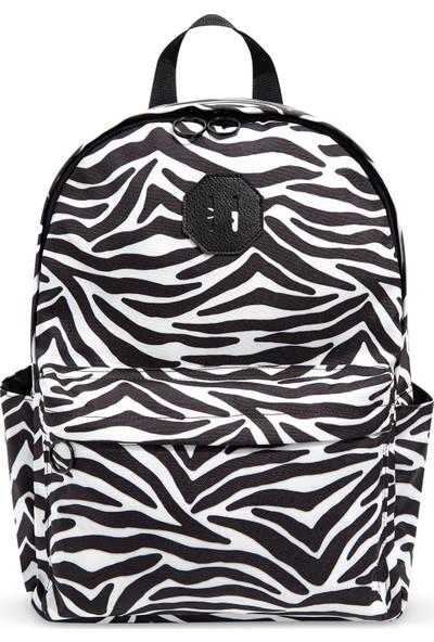 Zebra Desenli Sırt Çantası 197556-900