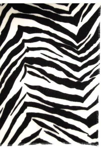 Mavi Zebra Desenli Şal 197911-620