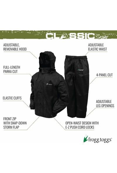 Frogg Toggs All-Sport Erkek Klasik Spor Su Geçirmez Nefes Alabilir Yağmurluk