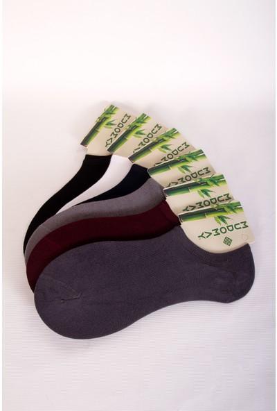 Mudomay 6'lı Bambu Sneakers Erkek Çorap
