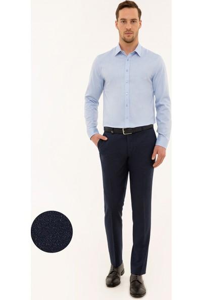 Pierre Cardin Lacivert Slim Fit Pantolon 50230442-VR033