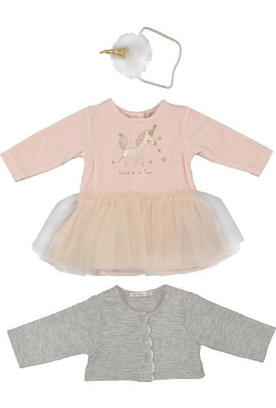 İdil Baby 3'lü Elbise Takımı 14135