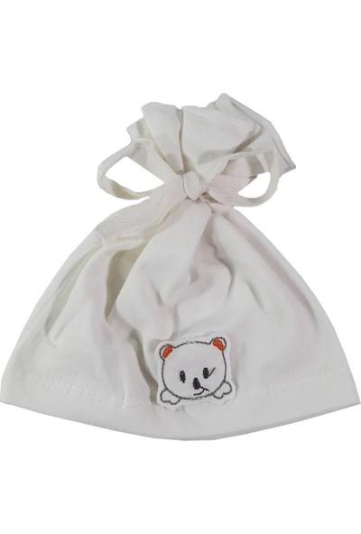 Bebeemm Bebek Şapka - Ayıcık Figürlü Bebek Şapkası