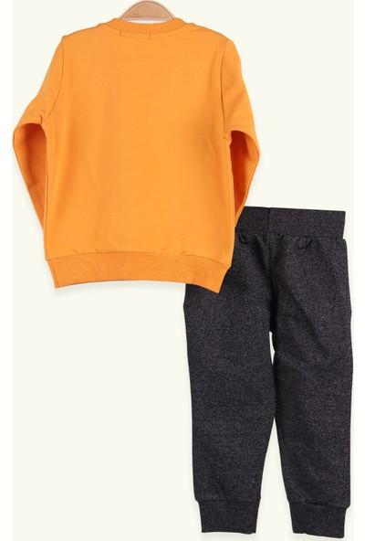 Breeze Erkek Çocuk Eşofman Takımı Brooklyn Işleme Sarı (1.5-5 Yaş)