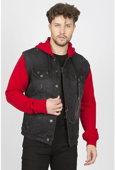 Shoppingdimoda Kot Ceket Penyeli Kapüşonlu