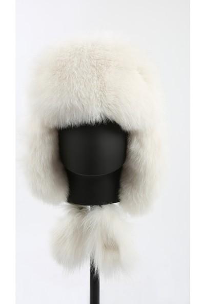 Enzio Gizzi Kürkten Kulaklıklı Şapka