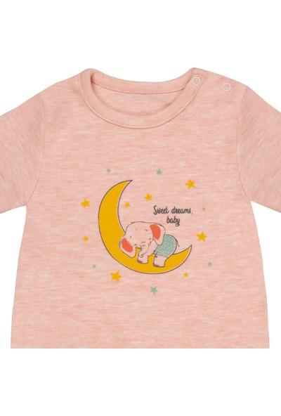 Bilgefil Bebek Bilgefil Kız Bebek Tulum Ay Yıldız Nova Pembe