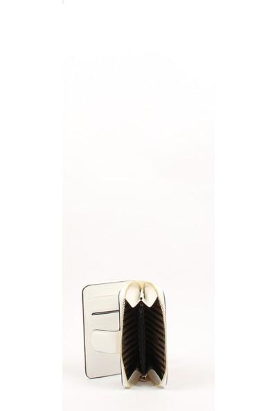 Silver & Polo Kadın Cüzdan & Kartlık 882-34444 Kadın Cüzdan M137 D.Mix-Mat Beyaz