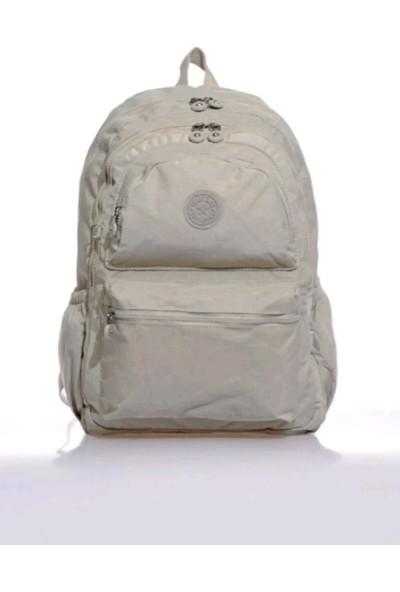 Smart Bags Unisex Orta Boy Su Geçirmez Klinkır Kumaş Sırt Çantası