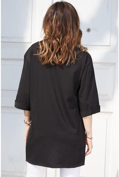 Xhan Boyfriend Basic T-Shirt 9KXK2-42904-02