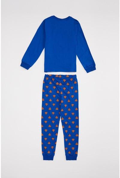 DeFacto Erkek Çocuk Superman Lisanslı Pijama Takım R9365A620AU