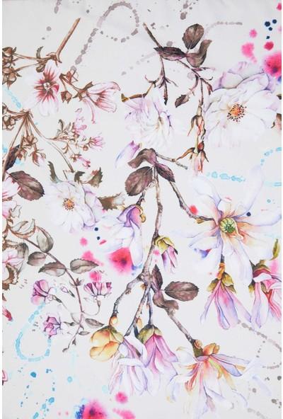 Defacto Kadın Çiçek Desenli Şal