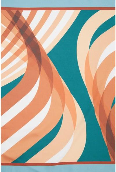 DeFacto Geometrik Desenli Şal T1731AZ20WN