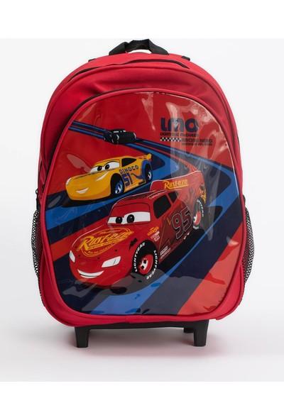 DeFacto Erkek Çocuk Arabalar Lisanslı Çekçekli Okul Çantası R5642A620AU