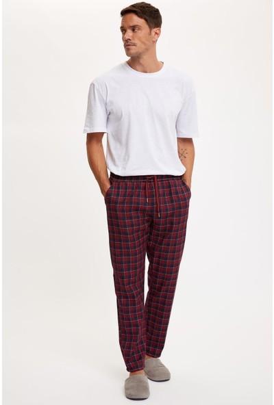 DeFacto Ekose Regular Fit Pijama Alt S4609AZ20AU