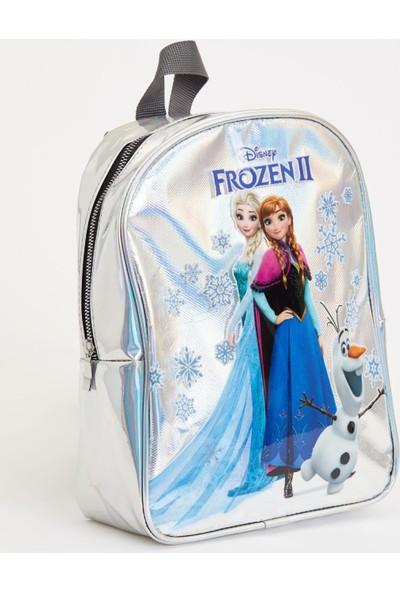 Defacto Kız Çocuk Frozen Lisanslı Sırt Çantası